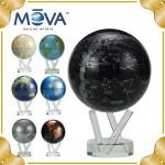 地球儀ムーバグローブ 光と磁力で回転する不思議な地球儀